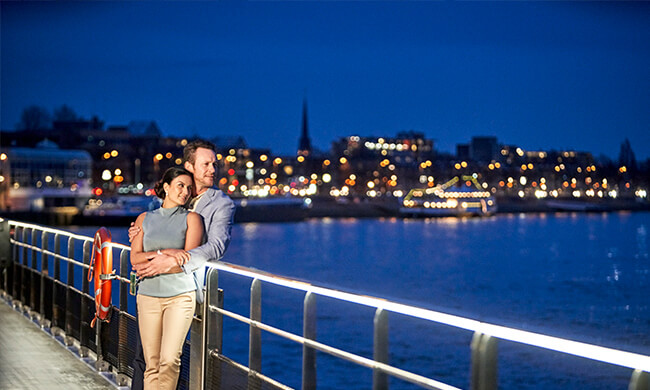 river cruises - nighttime onboard entertainment - crystal cruises